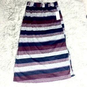 NWT Naïf skirt striped color block retro vintage